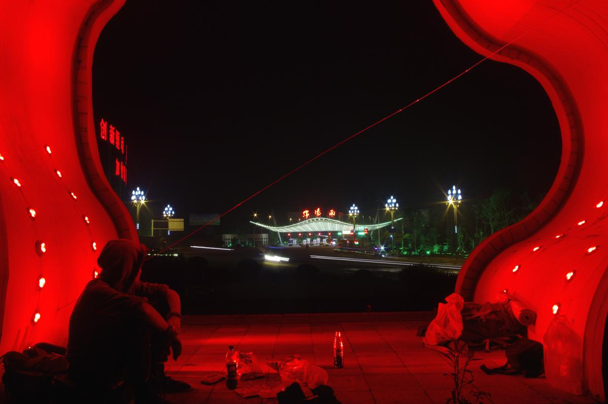 autostop en chine