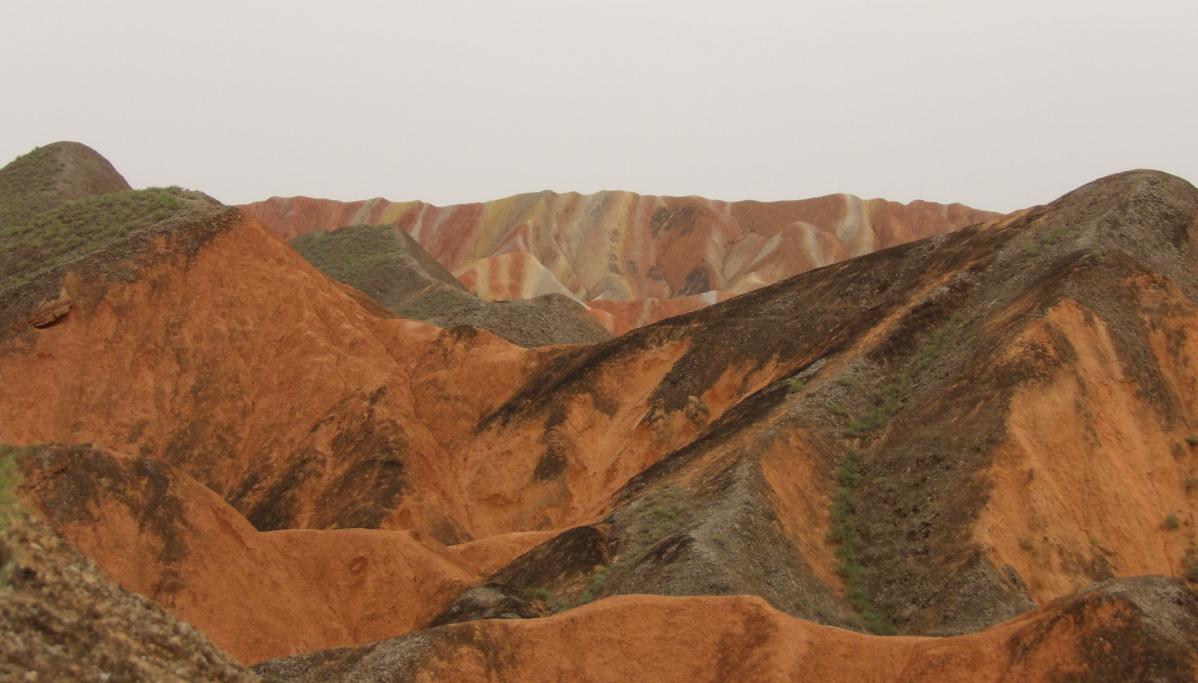 montagnes multicolores zhangye danxia