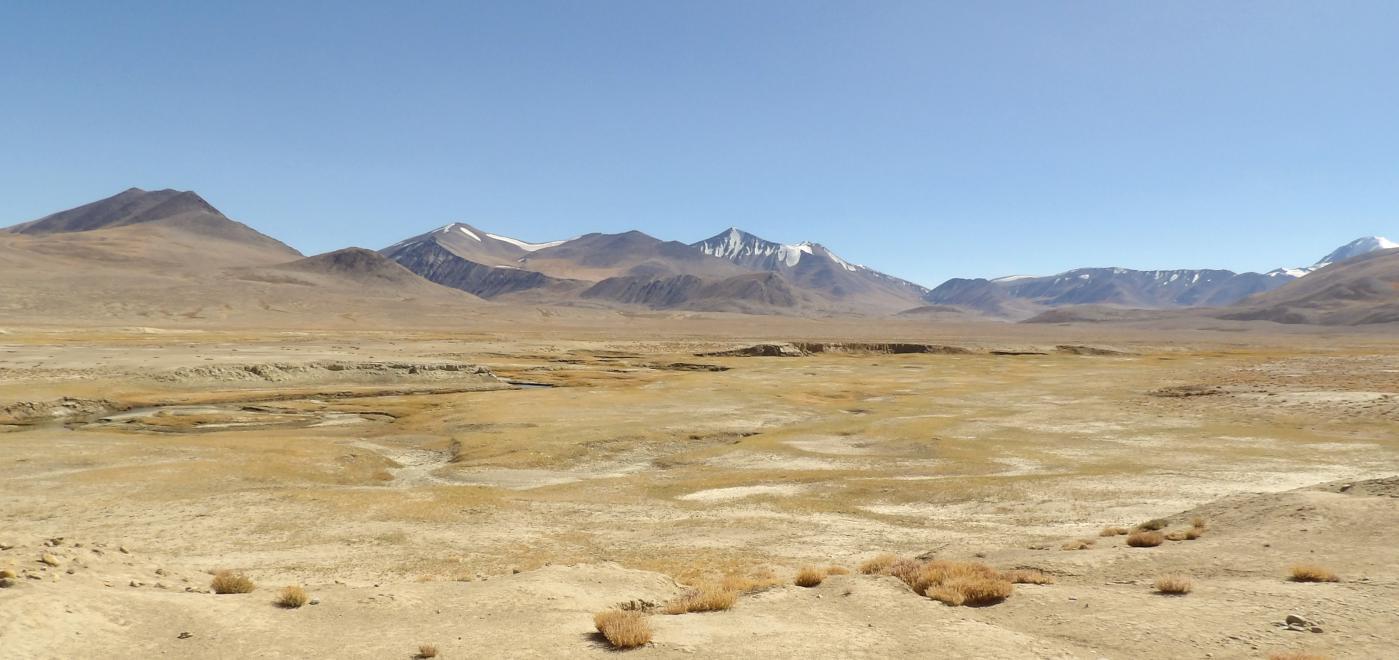 montagnes pamir tadjikistan