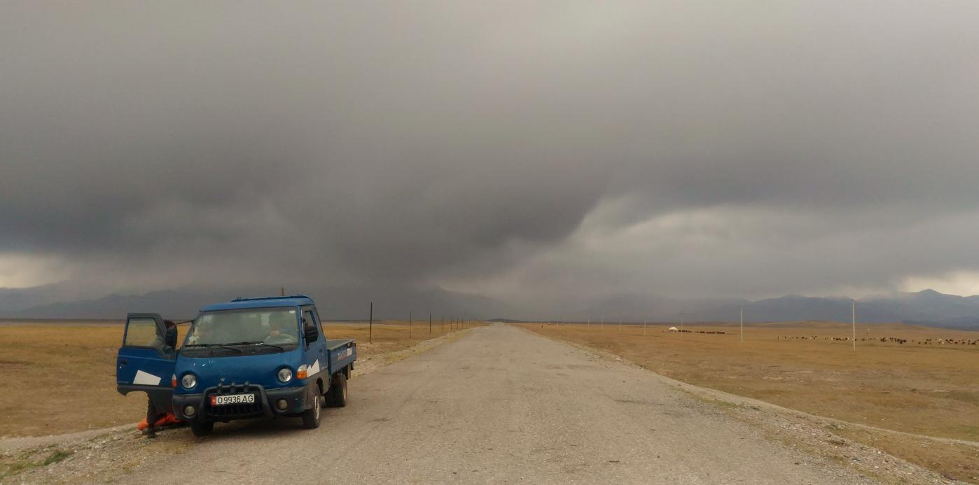 route M41 Kirghizistan Tadjikistan