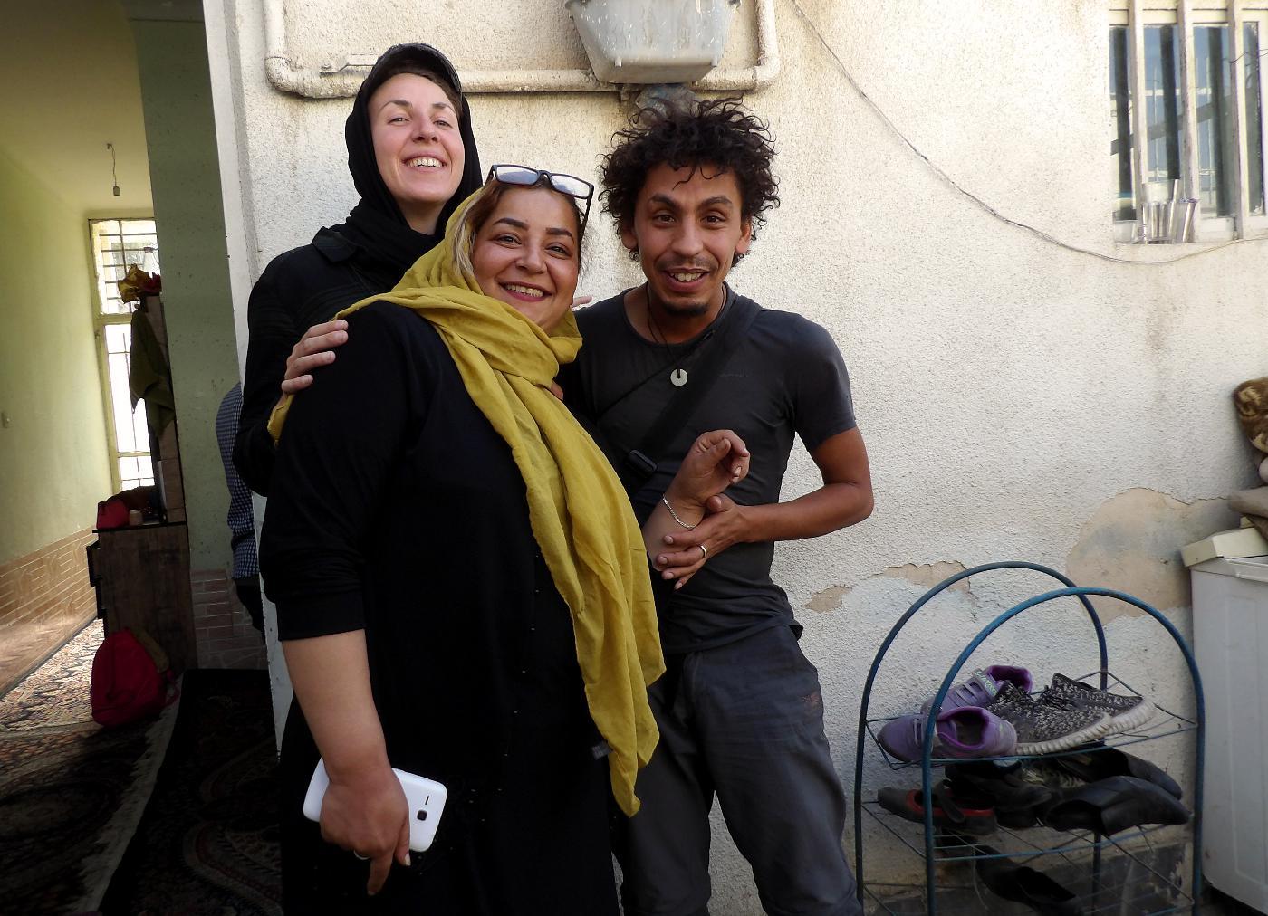 faire de l'auto-stop en Iran