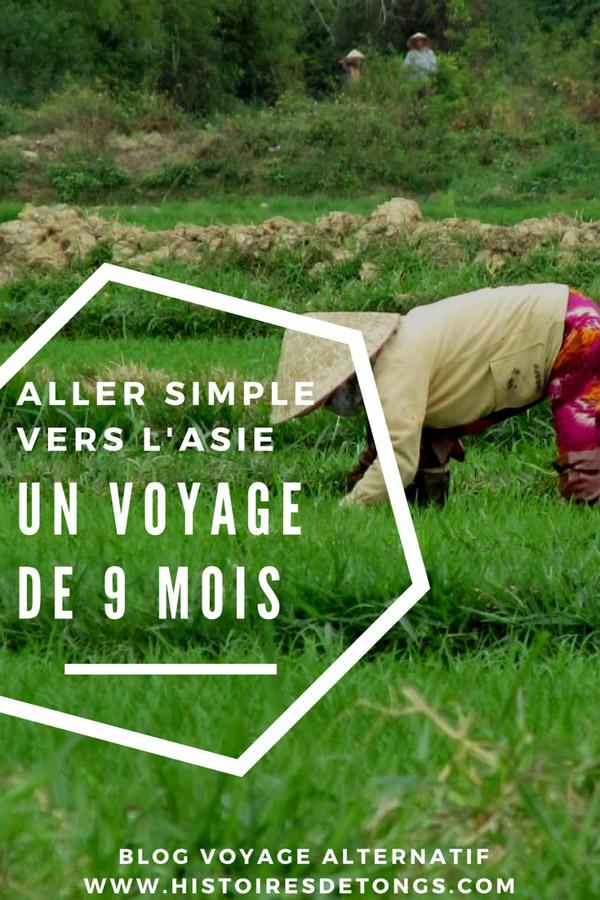 Aller-simple vers l'Asie : un voyage de 9 mois en auto-stop... | Histoires de tongs, le #blogvoyage passionnément alternatif