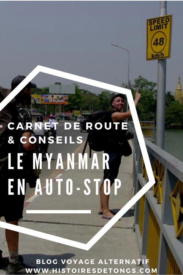 auto-stop myanmar birmanie