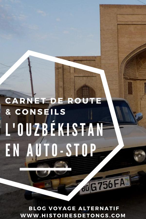 faire du stop en Ouzbékistan