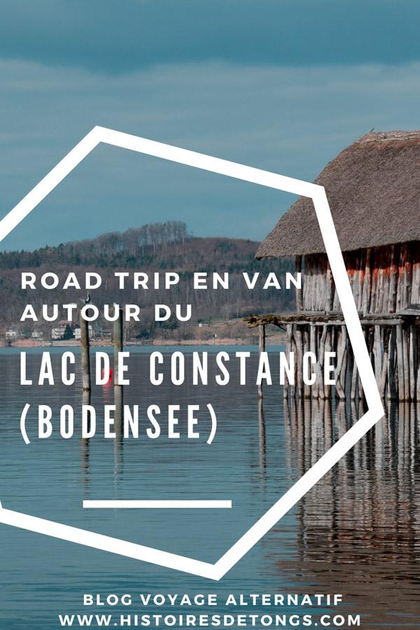 itinéraire lac de constance bodensee