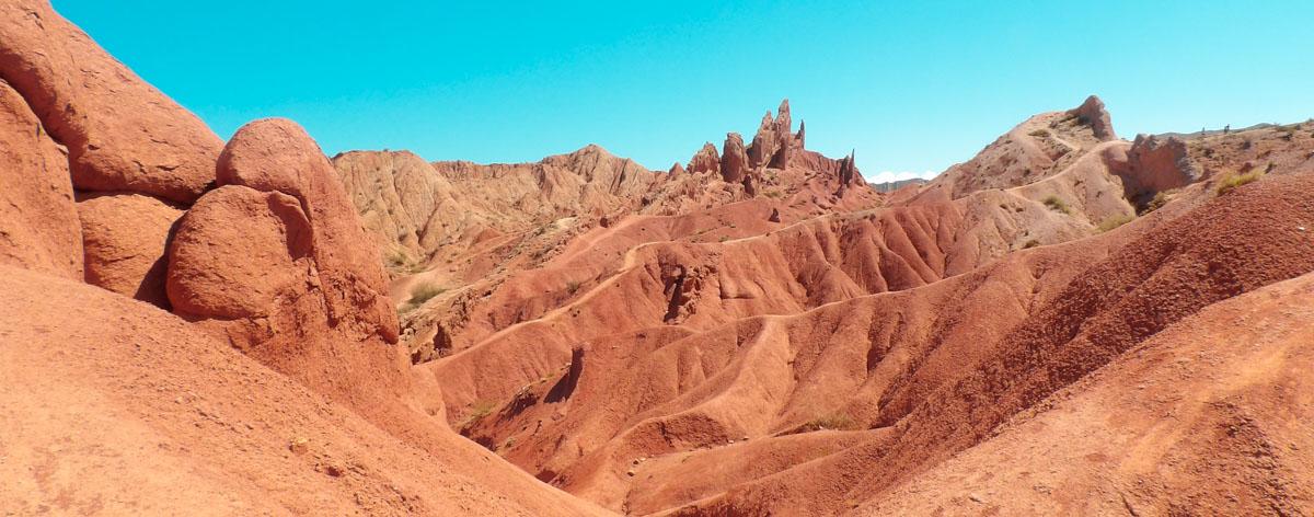 photo de voyage au kirghizstan