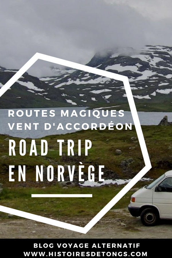 road trip norvège van aménagé