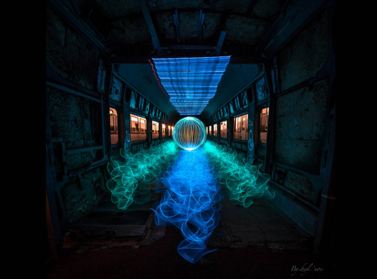 light painting tutoriel facile