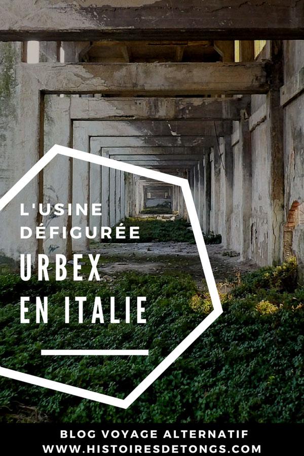 exploration urbaine italie