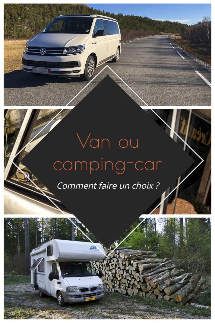 Comment choisir entre un van aménagé, un fourgon et un camping-car ? Découvrez tout ce qu'il faut savoir avant de passer à l'achat... | Histoires de tongs, le blog aventure en solo et au féminin