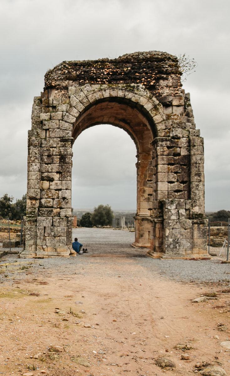arche romaine caparra via de la plata
