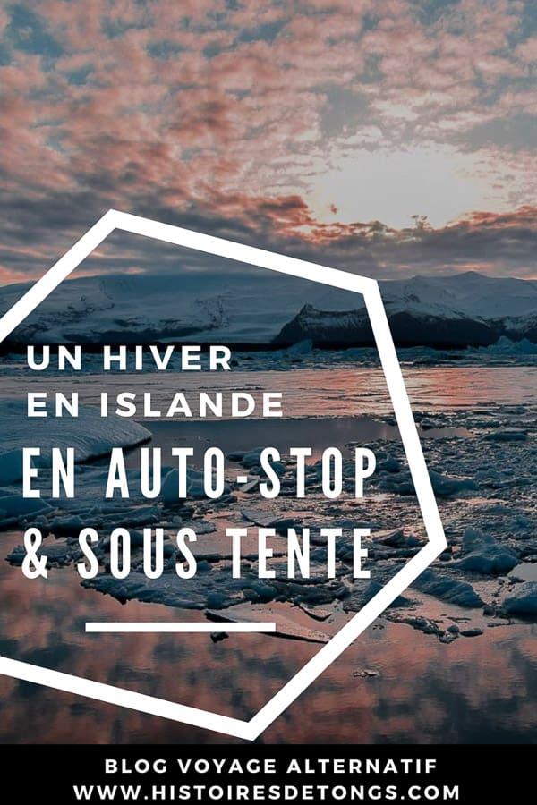 auto-stop en islande et camping sauvage