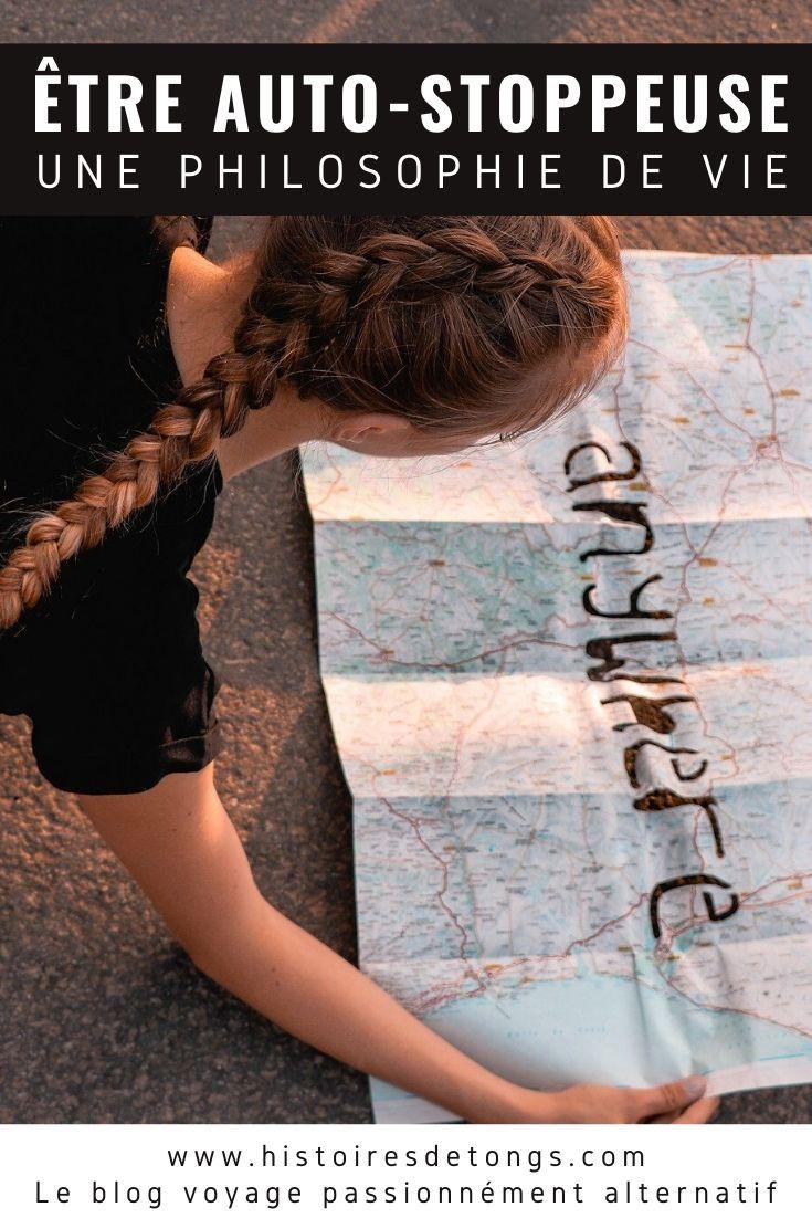 Être auto-stoppeuse ce n'est pas aller d'un point A à un point B. C'est prendre confiance en soi et croire en l'autre, un art de vivre, une forme de poésie... | Histoires de tongs, le blog voyage passionnément alternatif