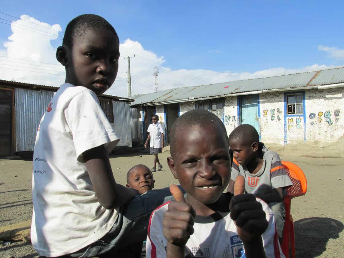 être bénévole dans un orphelinat au Kenya