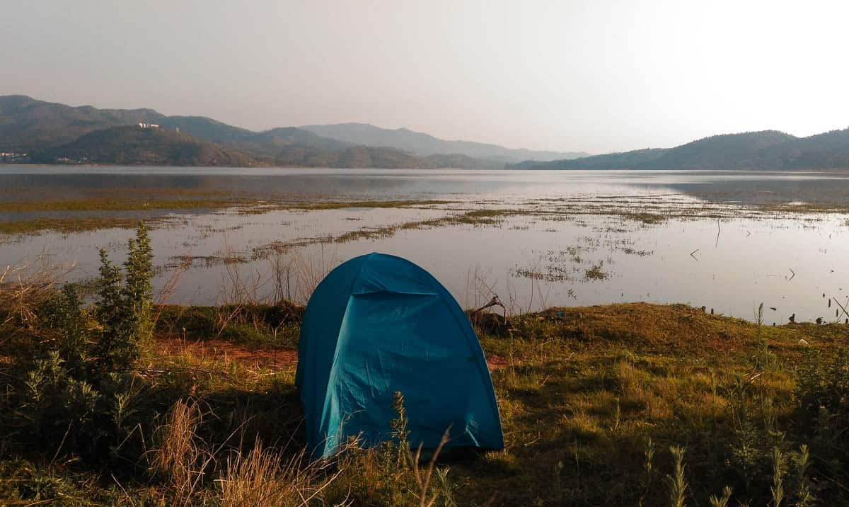 micro-aventure bivouac en pleine nature