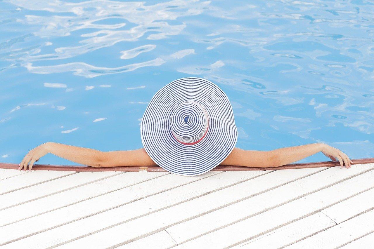 camping haut de gamme piscine