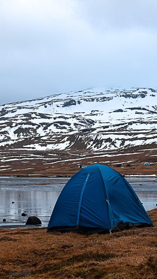 Faire du camping sauvage en Islande et en plein hiver : une sacrée aventure racontée dans un joli carnet de voyage... | Histoires de tongs, le blog voyage passionnément alternatif