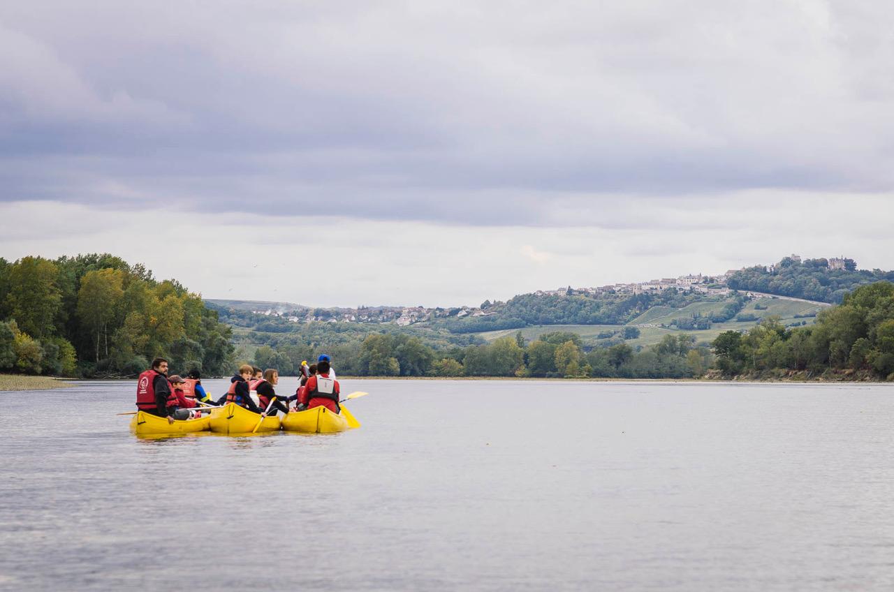 découvrir la Loire en canoe