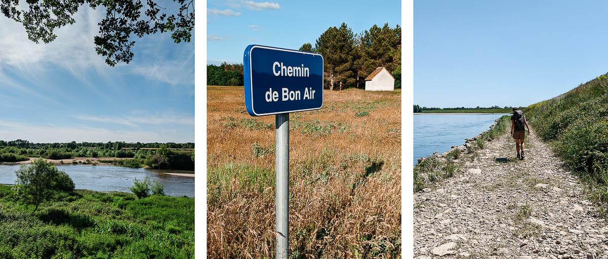 descendre la Loire à pied