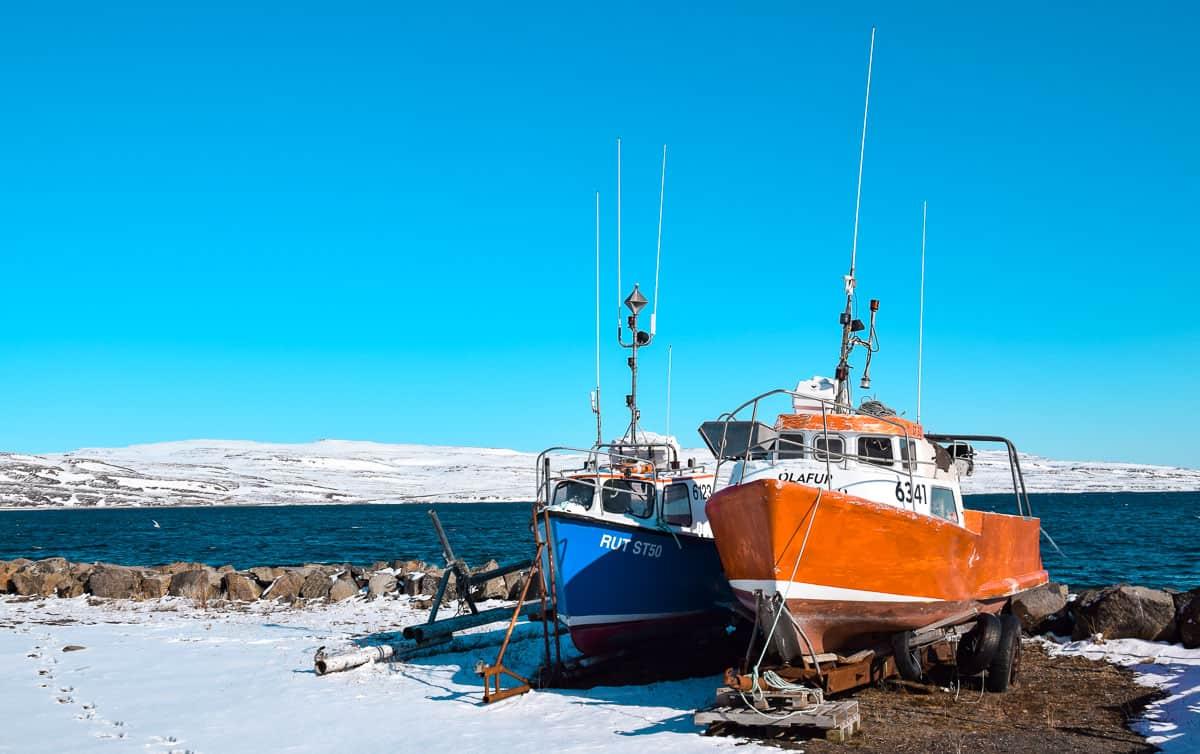 voyage en auto-stop en islande dans les fjords du nord ouest