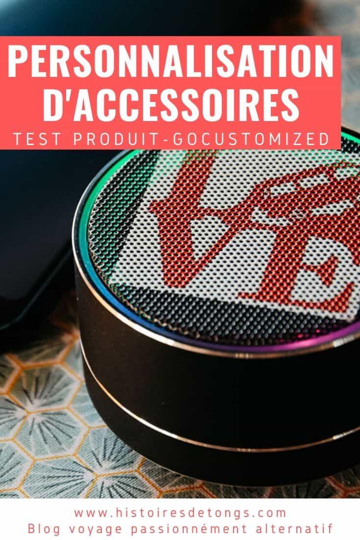Test produit : les accessoires personnalisés de chez GoCustomized, une belle surprise... | Histoires de tongs, le blog voyage passionnément alternatif