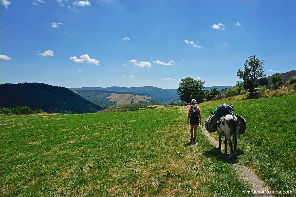 parcours de grande randonnée mythique stevenson