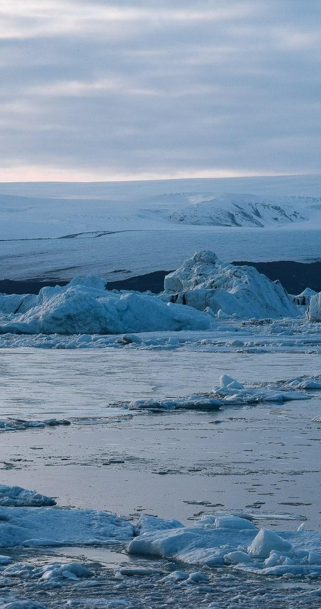 Lagune de Jökulsarlon, Islande