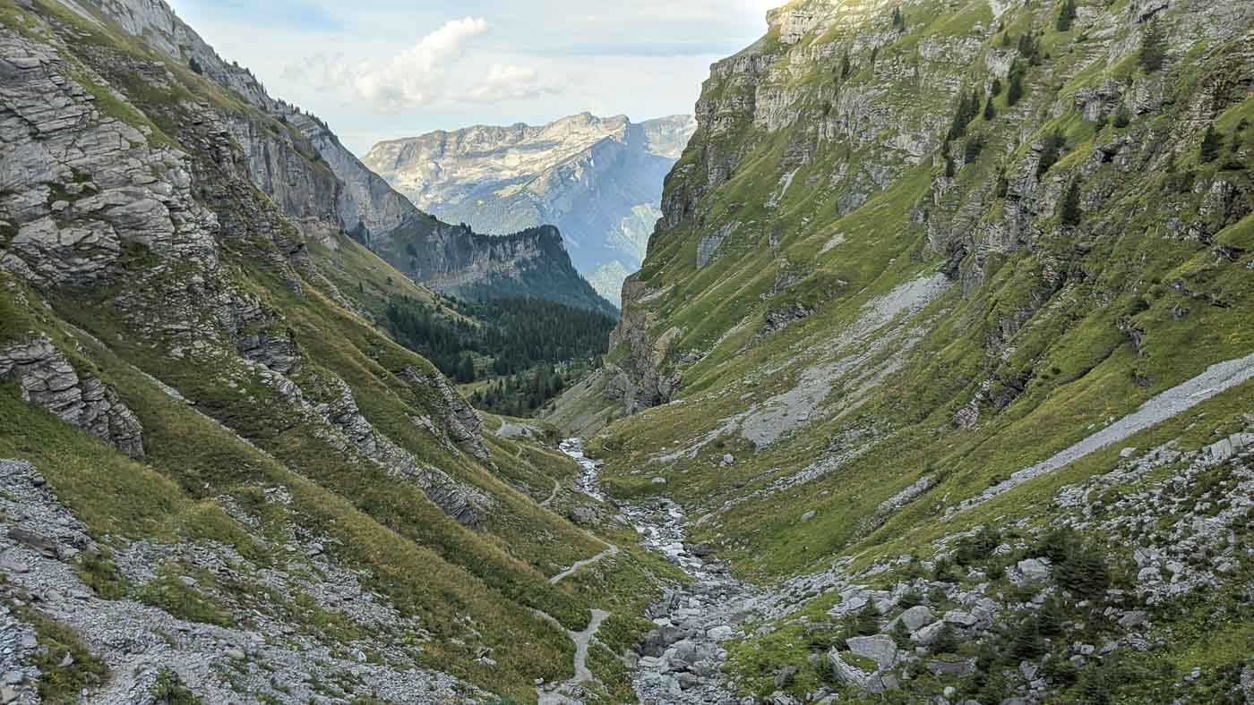 itinéraire tour des Fiz Alpes