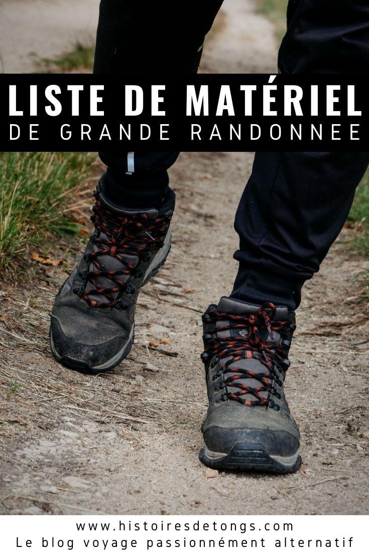 Retrouvez la liste complète du matériel de grande randonnée, utilisé lors de mes 1100km à pied sur le GR3...   Histoires de tongs, le blog voyage passionnément alternatif