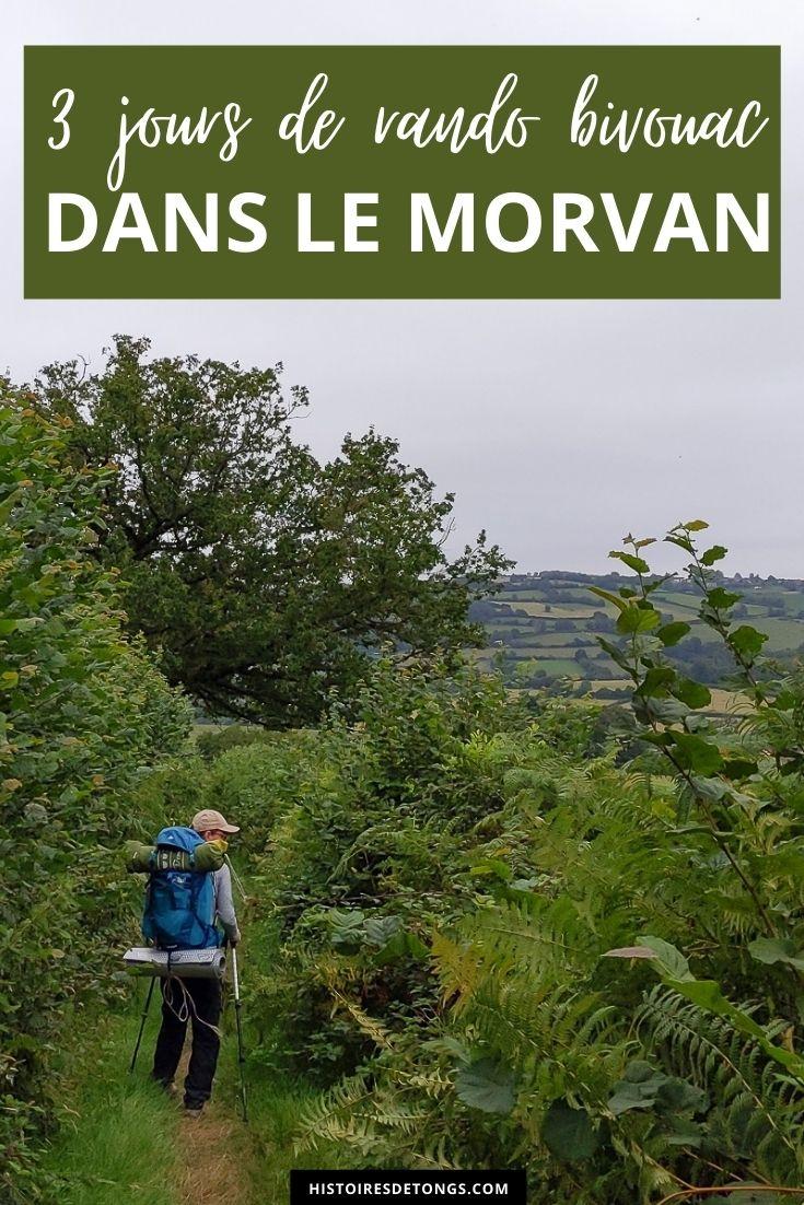 3 jours de randonnée et bivouac sur la Grande Traversée du Morvan... | Histoires de tongs, le blog aventure en solo et au féminin