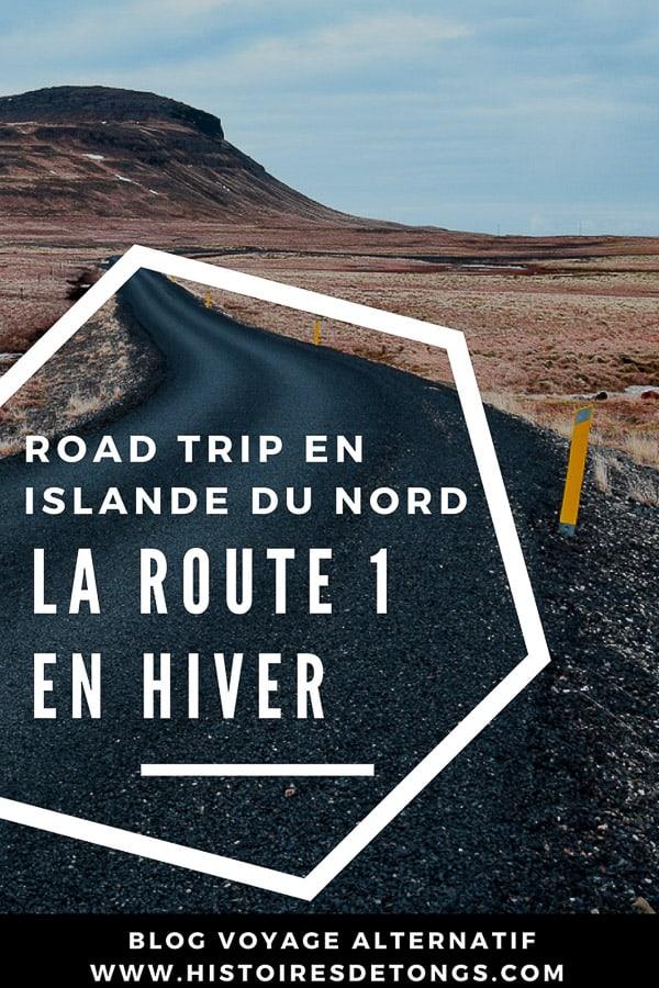 Road trip en Islande du Nord, la route 1 en hiver