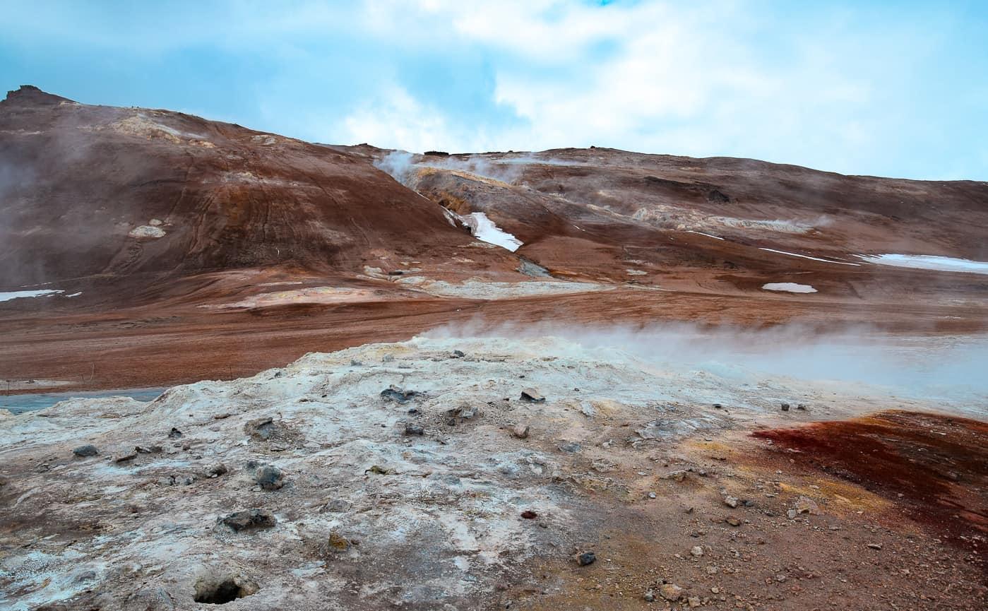 road trip en islande autour de Myvatn