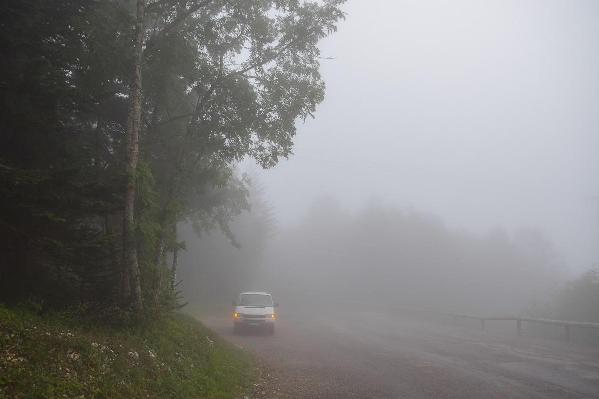 road trip en Savoie en van aménagé