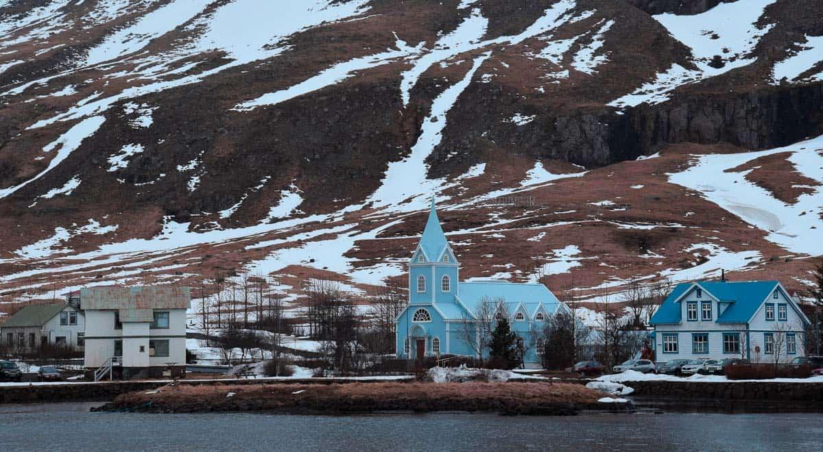 seydisfjordur islande camping sauvage