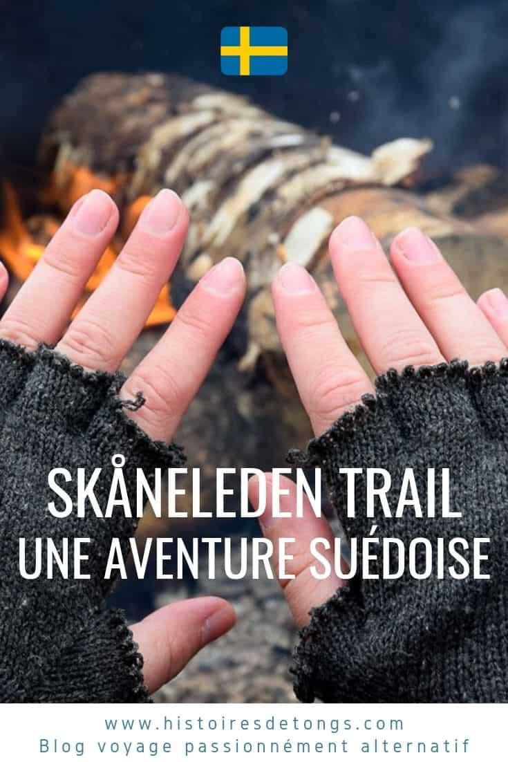 Retour sur mon trek de 600km sur le Skåneleden trail, une randonnée incontournable du Sud de la Suède, qui fut au coeur de mon expatriation... | Histoires de tongs, le blog voyage passionnément alternatif
