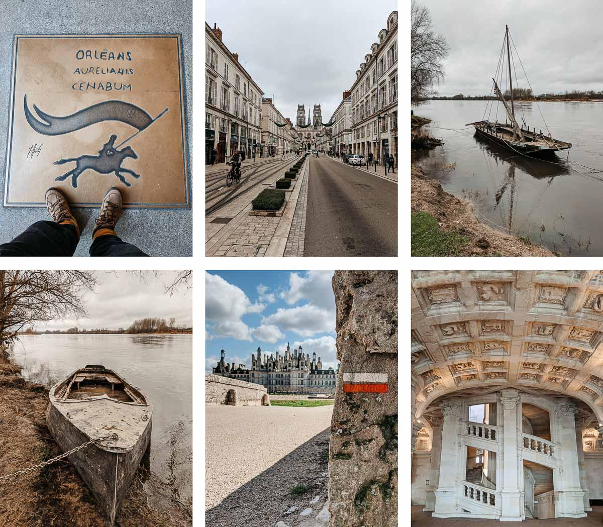 suivre la Loire à pied