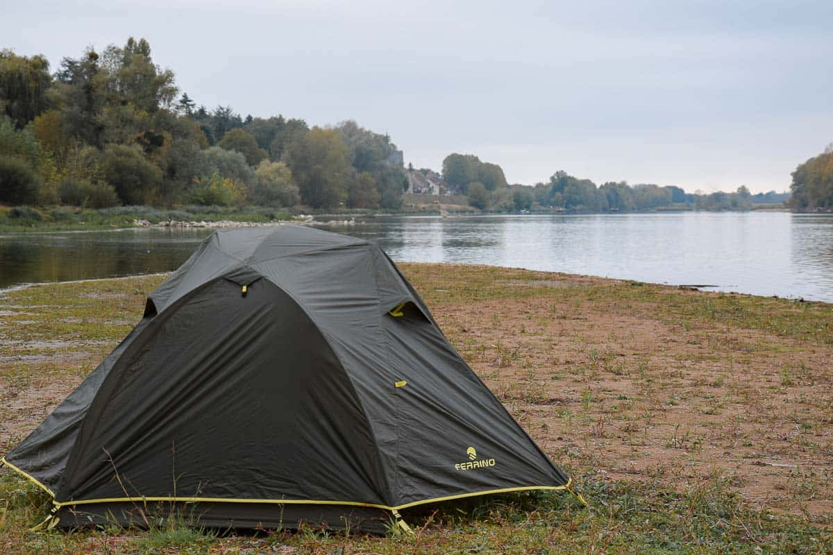test de tente 2 personnes bivouac