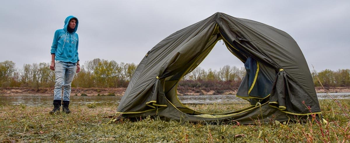 Test de la tente Ferrino Atrax 2