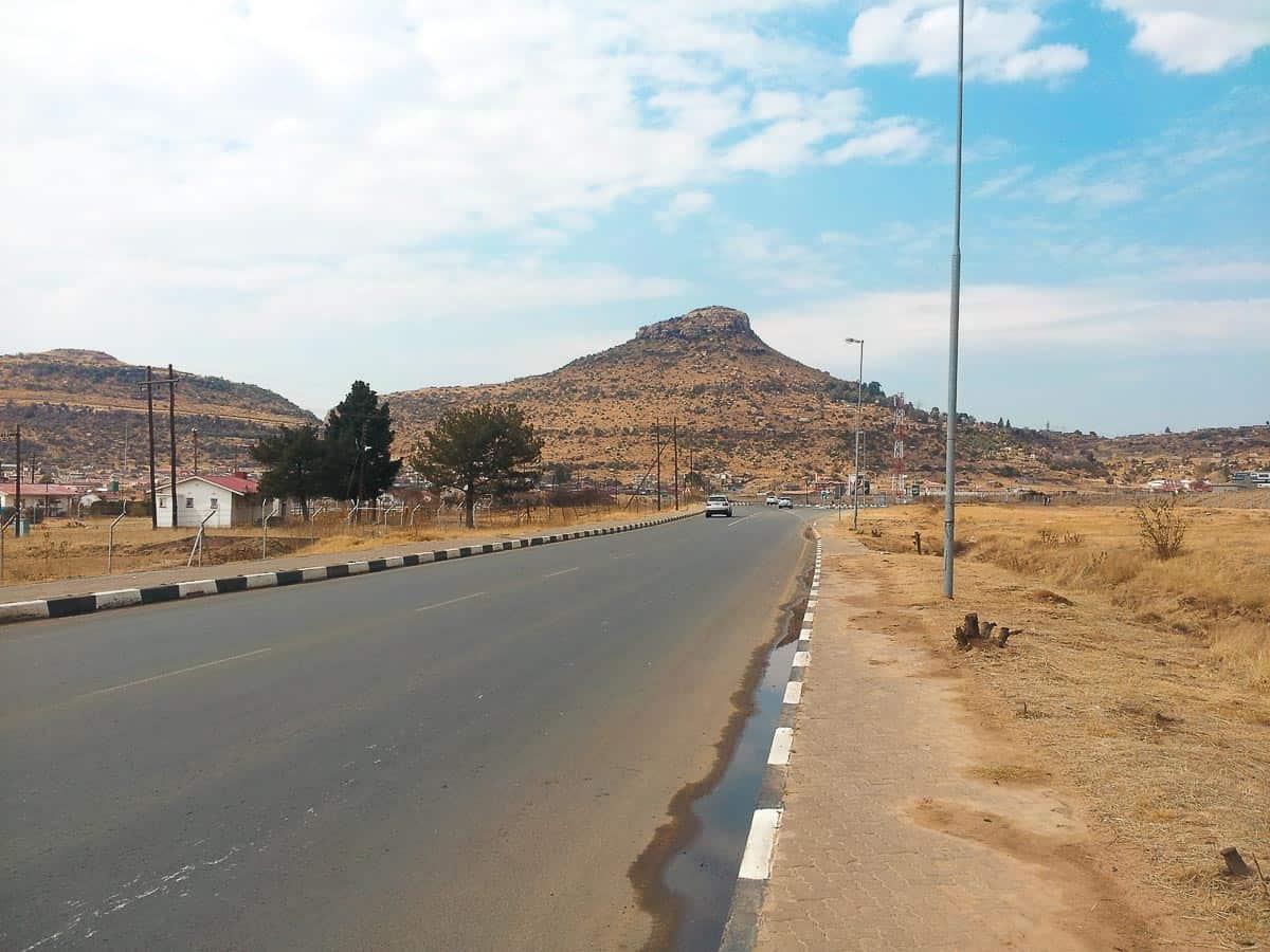 faire un trek au Lesotho