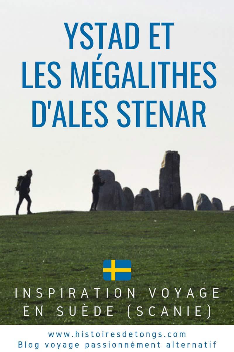 Escapade touristique à Ystad en Scanie, visite du site mégalithique d'Ales Stenar, et détente sur certaines des plus belles plages du Sud de la Suède... | Histoires de tongs, le blog voyage passionnément alternatif