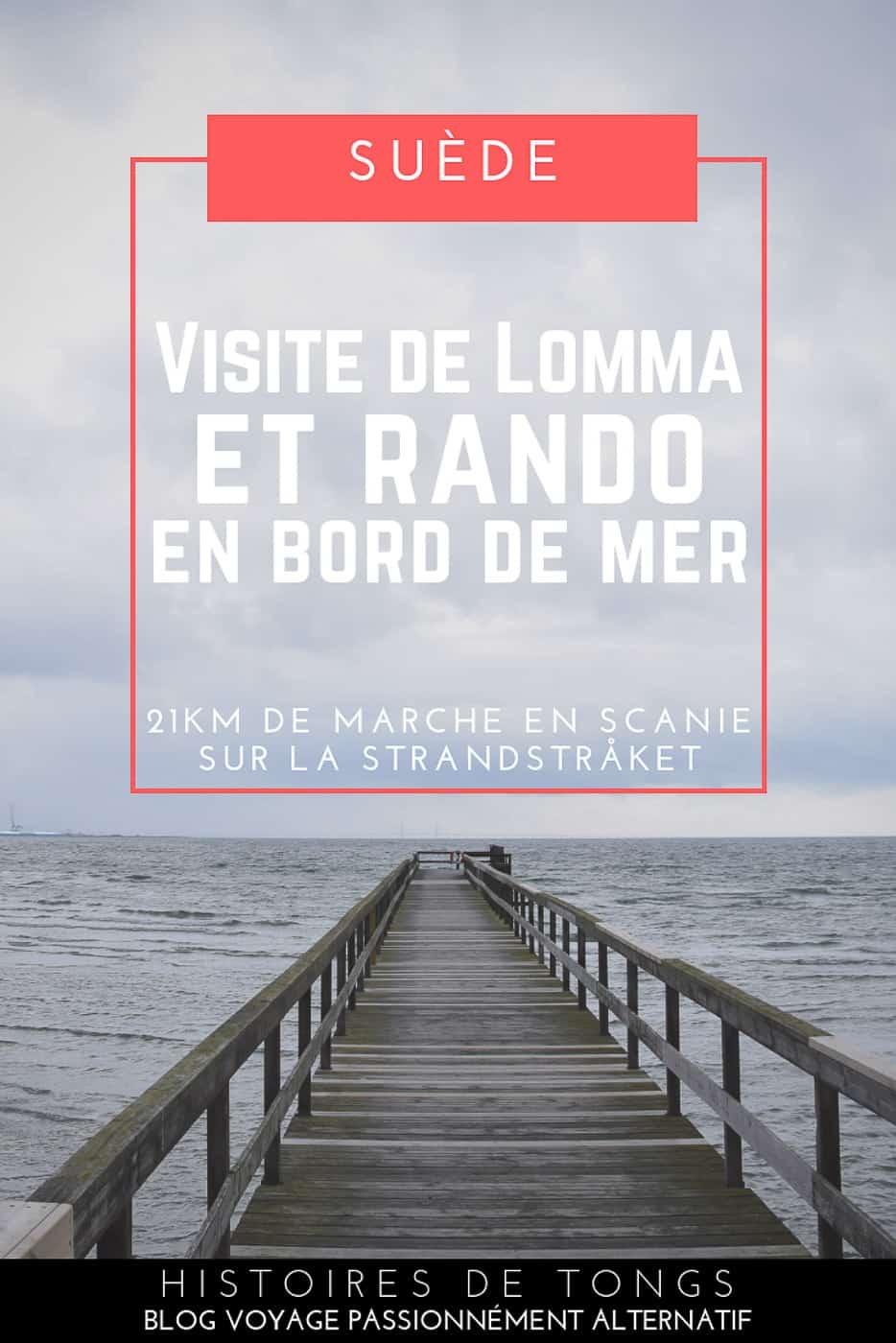 Visite de Lomma et Bjärred au Sud de la Suède (région de Skåne) et randonnée de 21km sur la Strandstråket, un magnifique sentier qui longe le bord de mer... | Histoires de tongs, le blog voyage passionnément alternatif