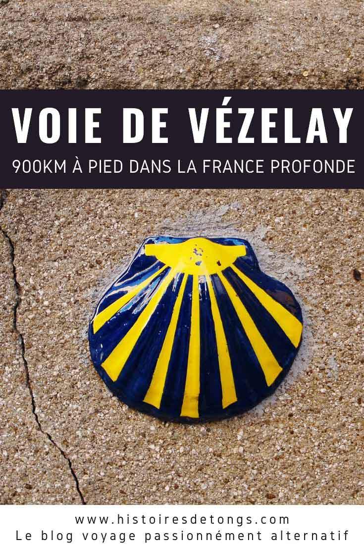 Itinéraire détaillé de la Voie de Vézelay, conseils pour marcher sur le Chemin de Compostelle, et retour sur mes plus belles rencontres en France, durant mes 900km de marche à travers la campagne profonde... | Histoires de tongs, le blog voyage passionnément alternatif