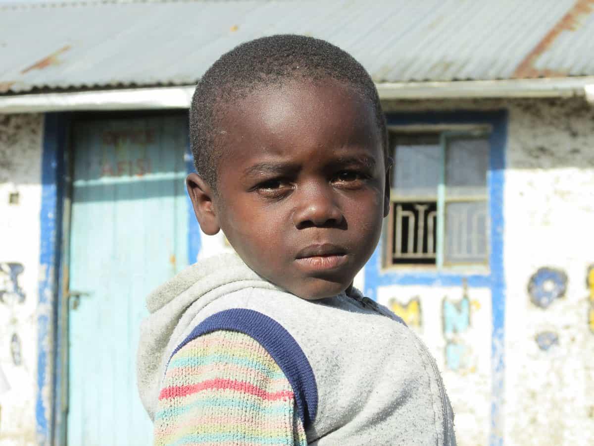 volontariat avec des enfants en Afrique