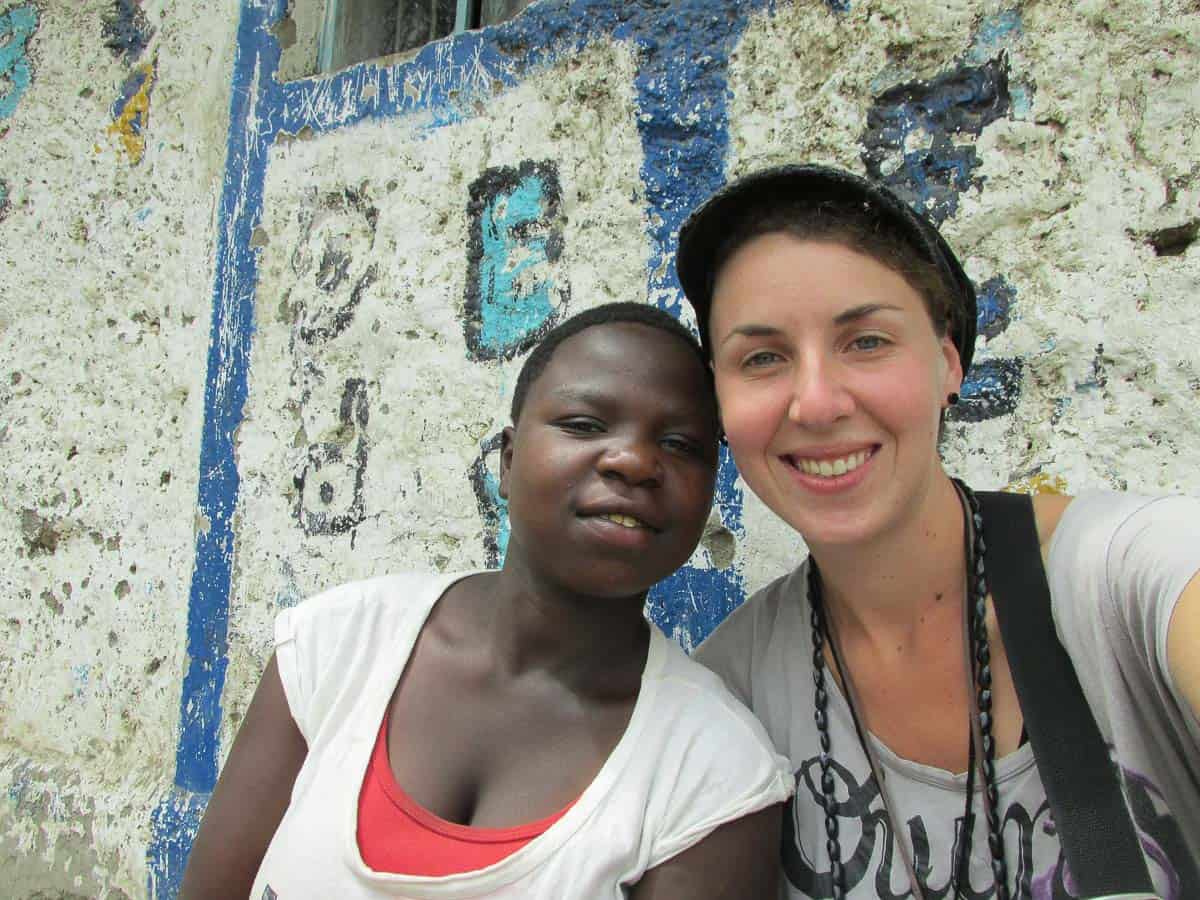 volontariat au Kenya avec des enfants