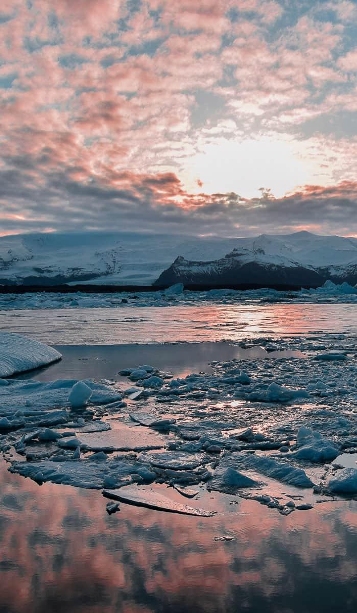 Voyage en Islande en hiver, en auto-stop et en camping sauvage